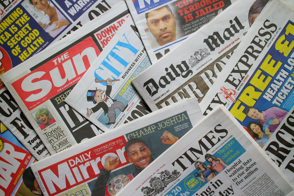 British Daily Newspapers